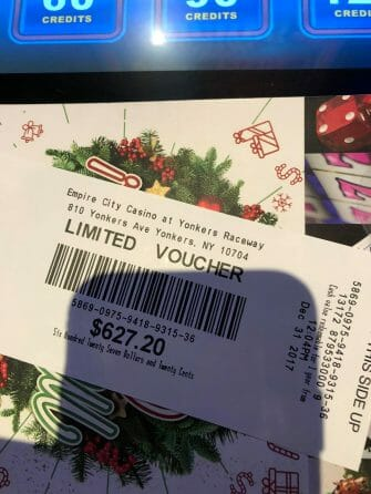 Empire City Casino limited voucher