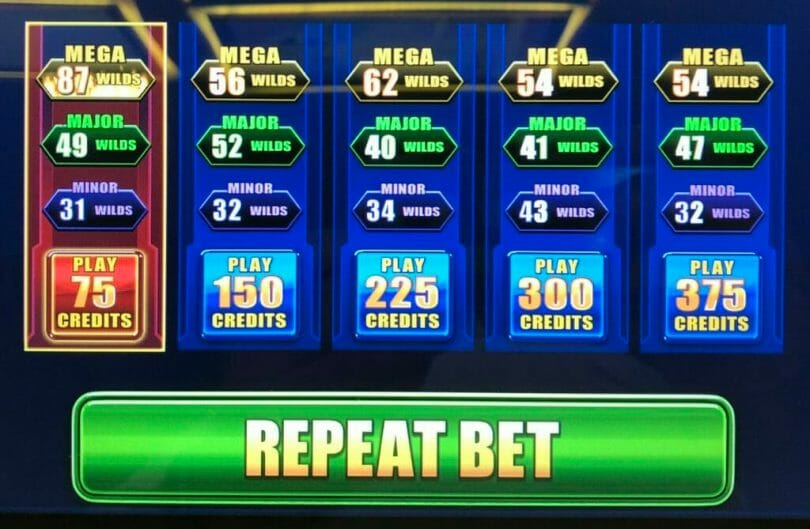 Regal Riches by IGT bet panel