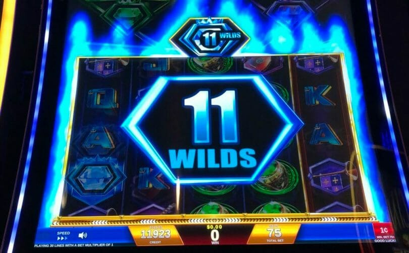 Regal Riches by IGT Guaranteed Wilds awarded