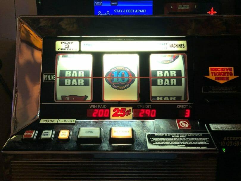 200 quarter line hit on 75 cent bet