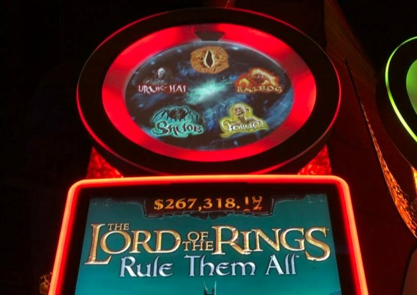 Lord of the Rings: Rule Them All by Scientific Games eye feature options