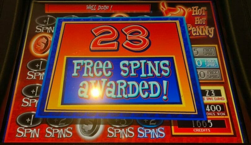 Hot Hot Penny Emerald Eyes by WMS 23 free spins