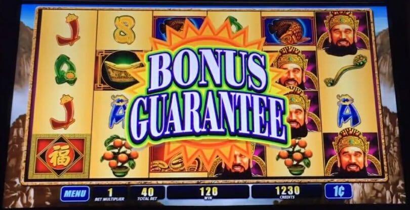 WMS bonus guarantee