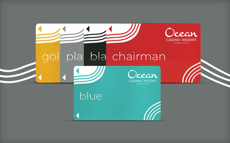 Ocean Casino Players Cards