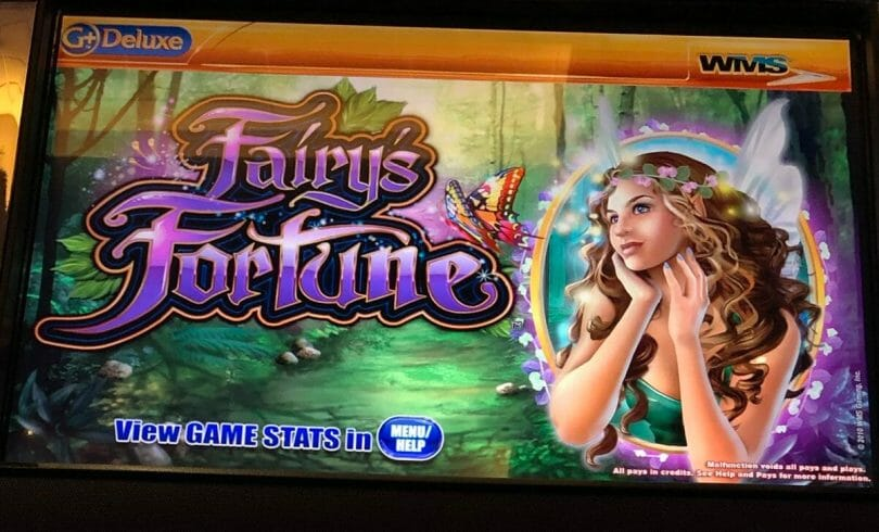 Fairy's Fortune by WMS top box