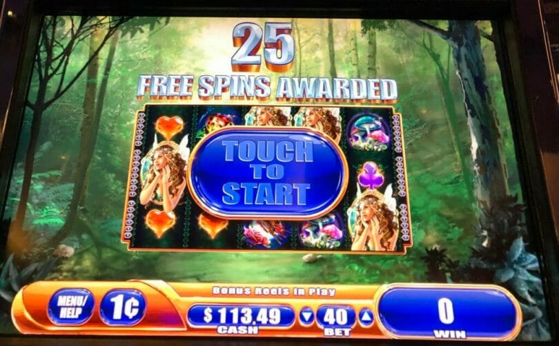 Fairy's Fortune by WMS 25 free spins