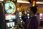 Brian Christopher plays Wheel of Fortune during a live stream at Mohegan Sun in Montville, CT