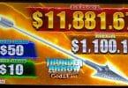 Thunder Arrow God of the East by Konami top screen