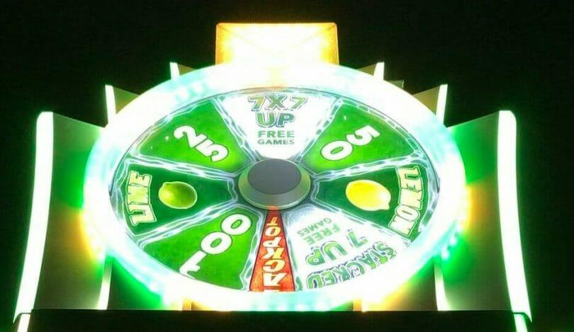 7-Up by Aristocrat top wheel