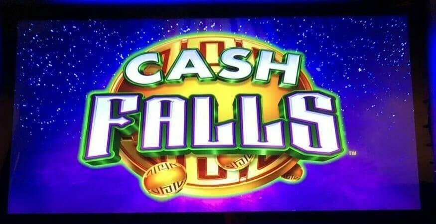 Cash Falls by Scientific Games logo