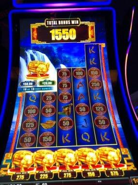 Cash Falls by Scientific Games bonus conclusion