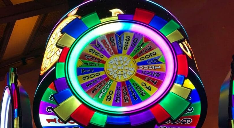 Wheel of Fortune Mystery Link by IGT top wheel