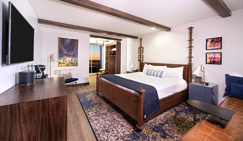 El Cortez hotel room