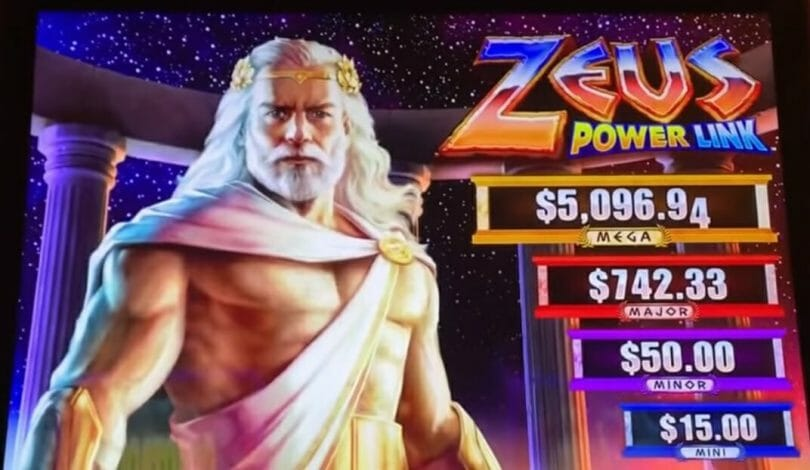 Zeus Power Link by Scientific Games top box