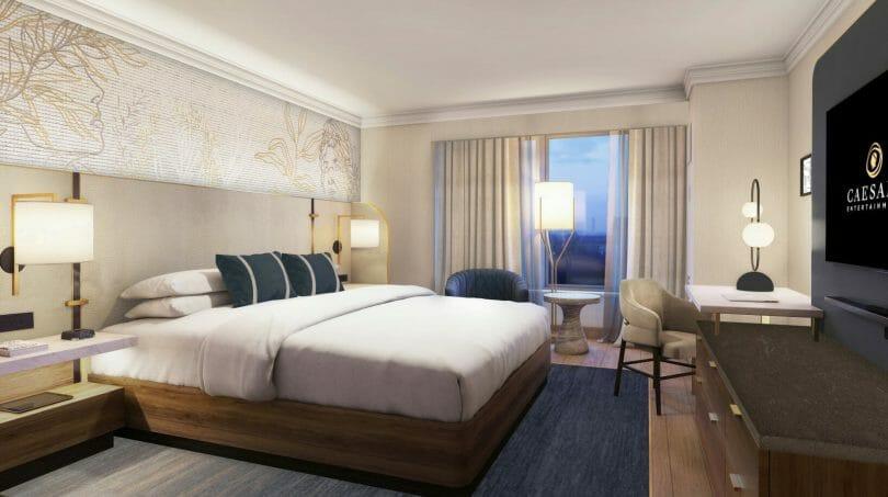 Emperor Suite Ocean Tower Room Rendering