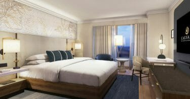 Emperor Suite Ocean Tower Room Rendering