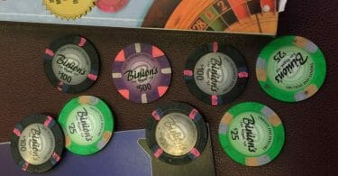 Binion's casino chips