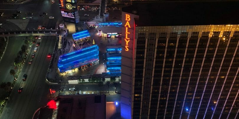 Bally's Las Vegas from the High Roller