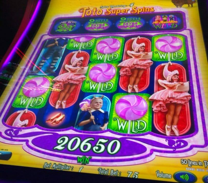 Munchkinland by Scientific Games big win bonus