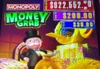 Monopoly Money Grab by Scientific Games top box