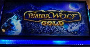 Timber Wolf Gold by Aristocrat logo