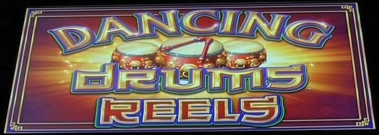 Dancing Drums Reels by Scientific Games logo