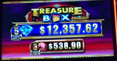 Treasure Box Dynasty by IGT top box