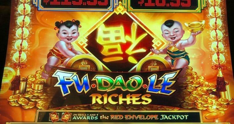 Fu Dao Le Riches by Scientific Games logo