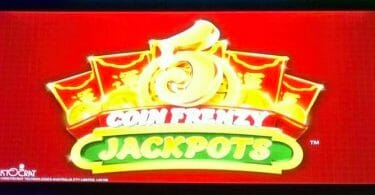 5 Coin Frenzy Jackpots by Aristocrat logo
