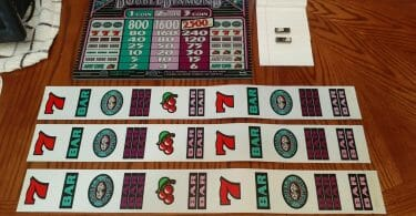 Double Diamond by IGT reel strips