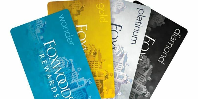 Foxwoods Rewards players cards