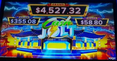 Cash Jolt Grand Palace by AGS progressives