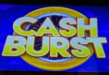 Cash Burst series logo