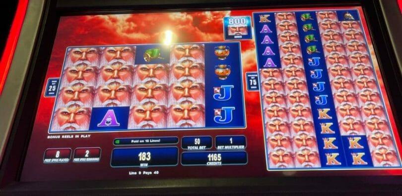 Zeus 1000 by WMS 800 Zeus heads added