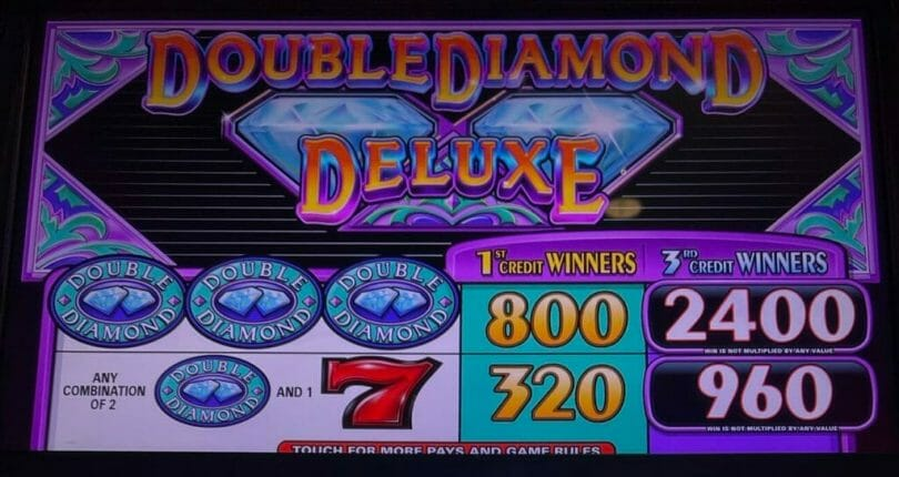 Double Diamond Deluxe by IGT top pays