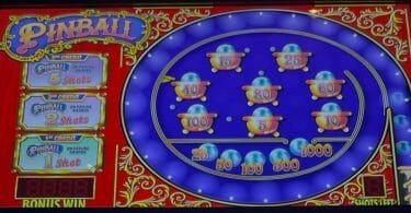 Pinball by IGT top screen