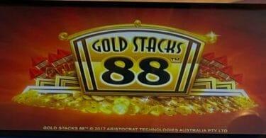 Gold Stacks 88 by Aristocrat logo