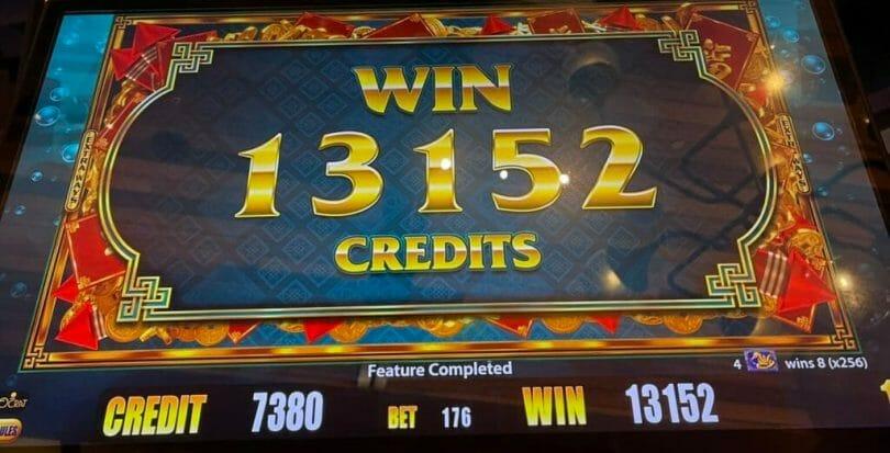 Gold Stacks 88 Turtle Kingdom by Aristocrat bonus outcome