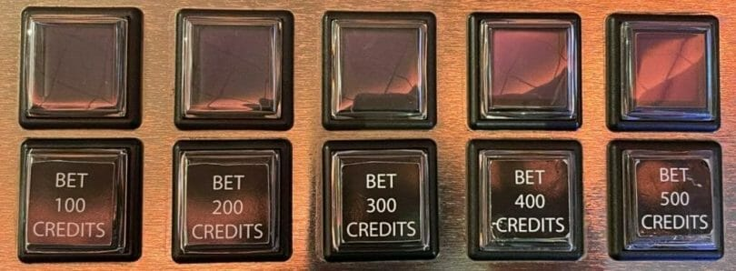 100 Wolves by IGT bet panel