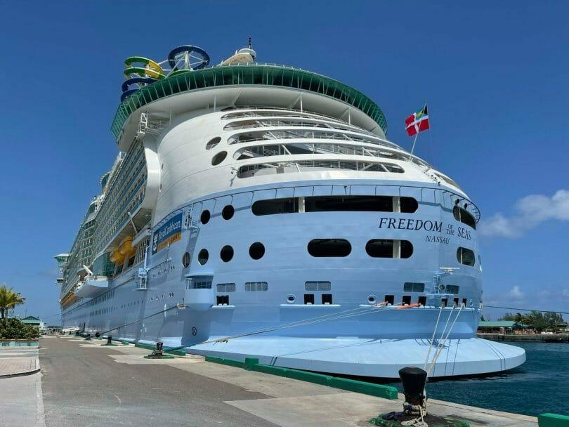 Royal Caribbean Freedom of the Seas in Nassau