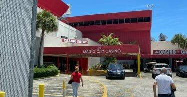 Magic City Casino entrance