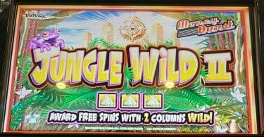 Jungle Wild II by WMS logo