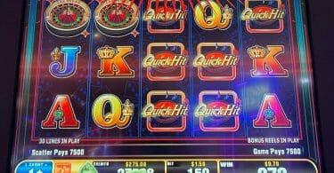 Quick Hit Las Vegas by Bally 6 Quick hit symbols 2x bonus