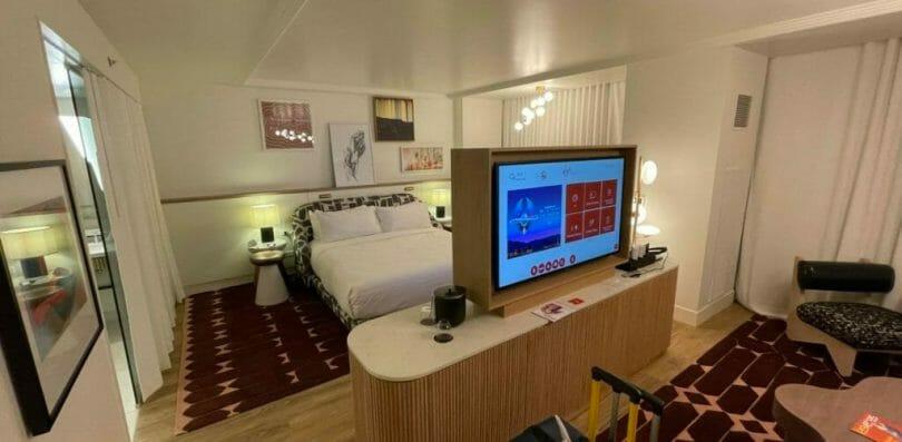Virgin Las Vegas Ruby Tower king accessible room