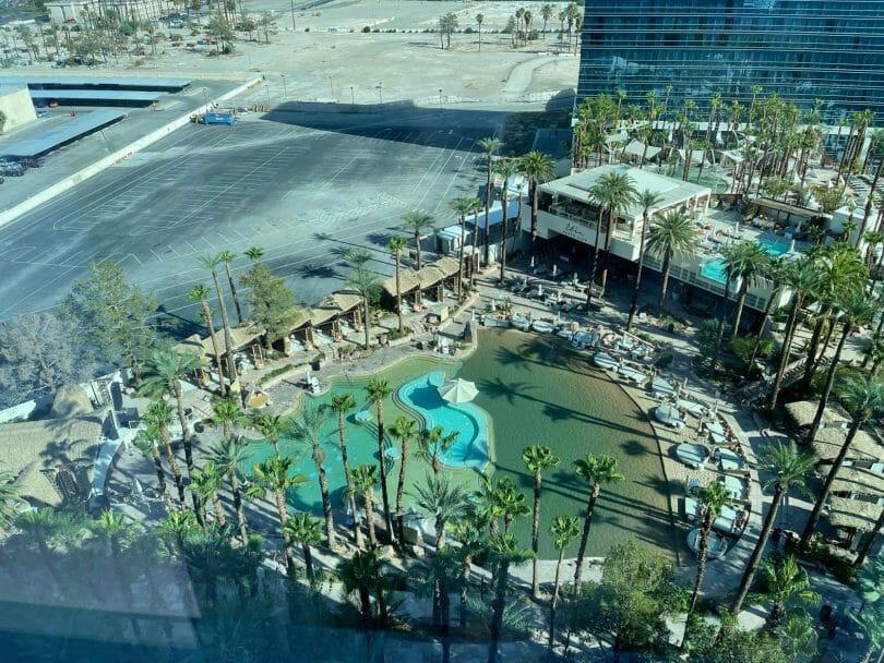Virgin Las Vegas pool