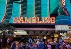Binion's gambling sign
