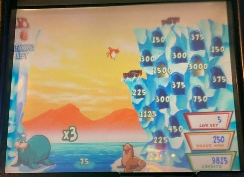 Lucky Lemmings by WMS lemmings bonus