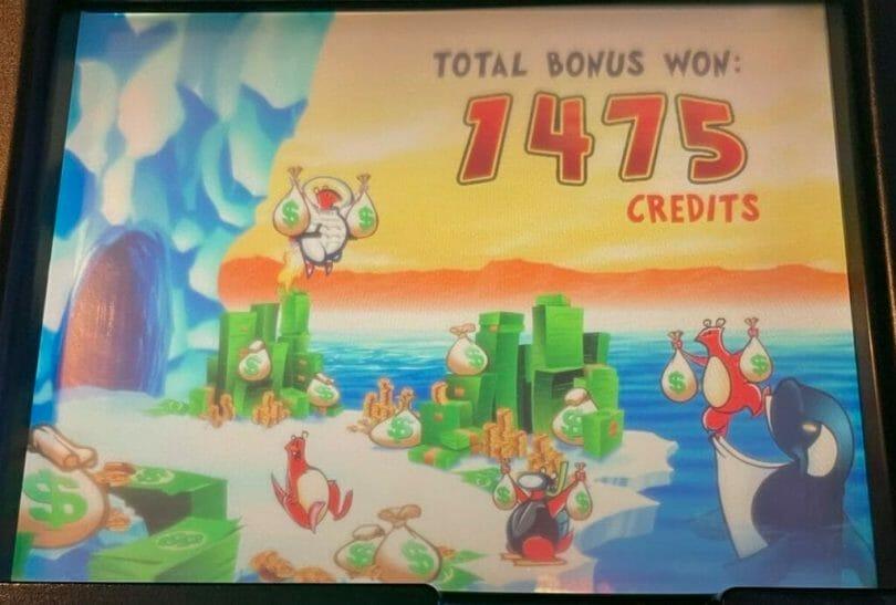 Lucky Lemmings by WMS bonus final