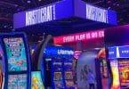 Aristocrat booth at G2E 2021