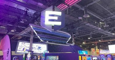 Everi booth at G2E 2021